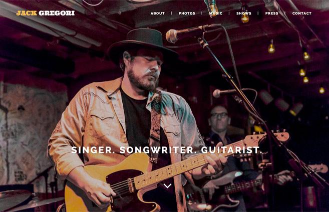 Jack Gregori Website